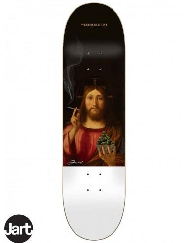 JART Skateboards Renaissance II Weedsuschrist 8.0