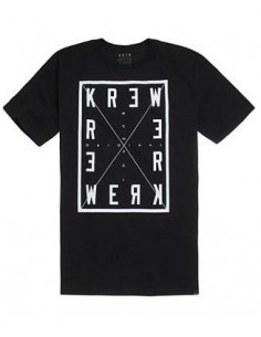 CAMISETA KREW FOUR CORNERS BLACK