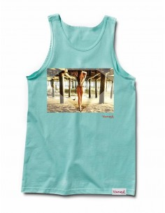 T-SHIRT DIAMOND PIER GIRL TANK DIAMOND BLUE