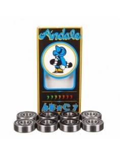 BEARINGS ANDALE ABEC 7 SINGLE BLACK