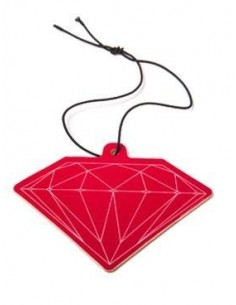 AMBIENTADOR DIAMOND CAR AIR FRESHENER RED