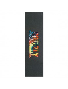 LIJA GRIZZLY GRIPTAPE T PUDS ORANGE TIE DYE