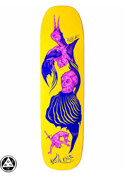 Welcome Skateboards en La Dolce Vita